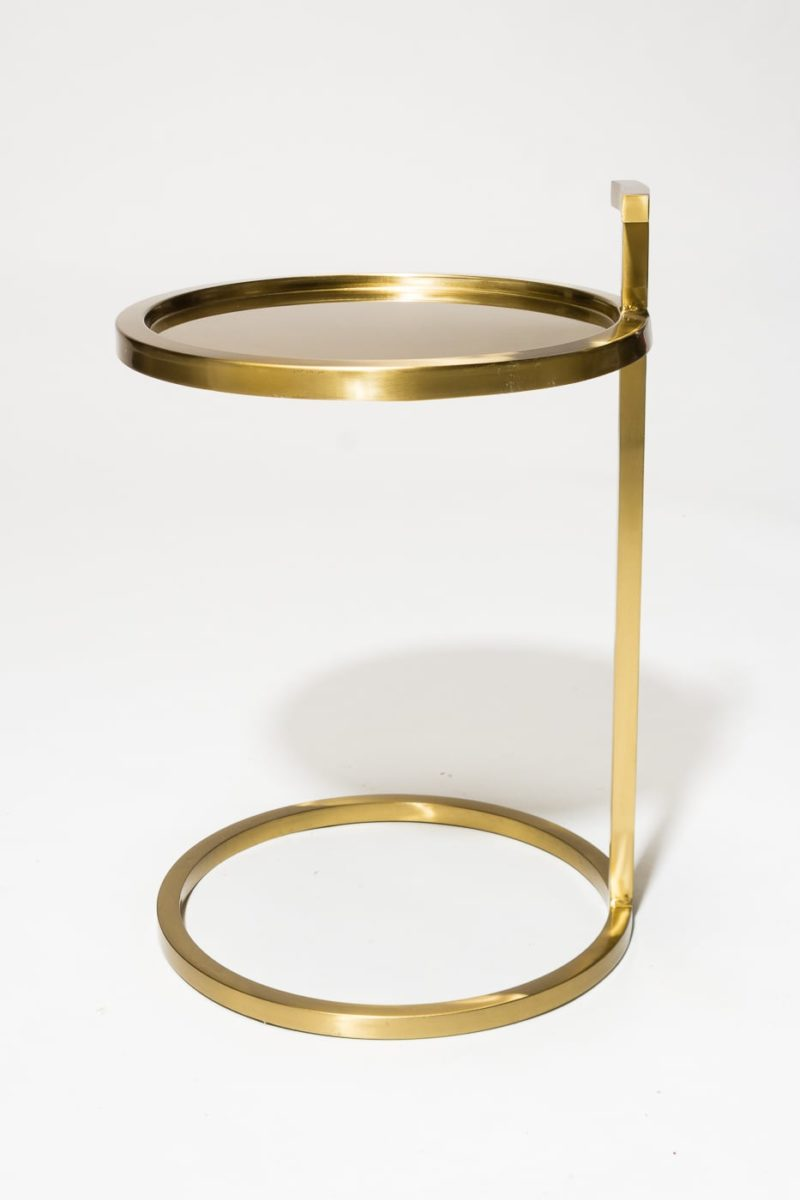 Alternate view 3 of Bennett Gold Ring Side Table