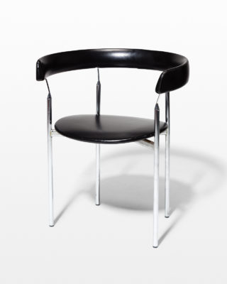 Front view of Kennet Curve Chair