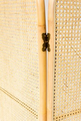 Alternate view 1 of Corina Rattan and Caned Screen