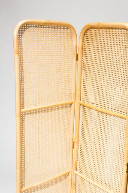 Alternate view 5 of Corina Rattan and Caned Screen