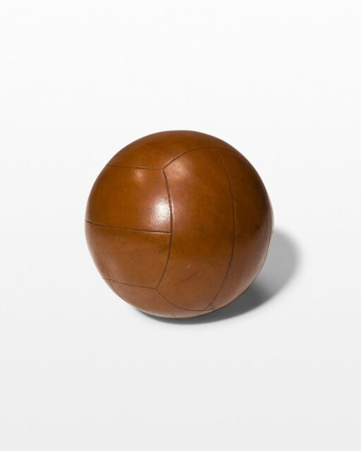 Front view of Vintage Cameron Medicine Ball