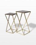 Front view thumbnail of Vector Pedestal Side Tables