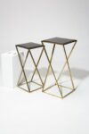 Alternate view thumbnail 1 of Vector Pedestal Side Tables