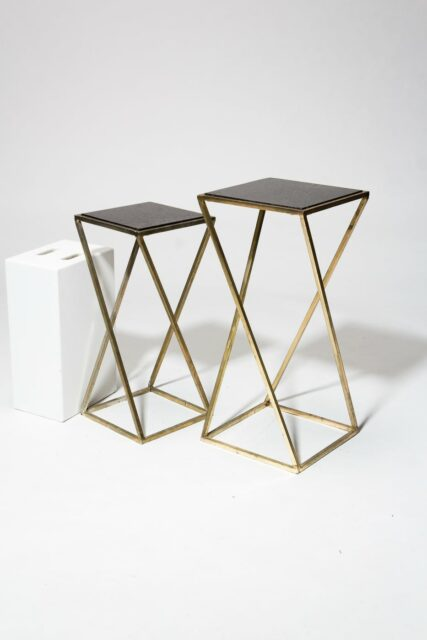 Alternate view 1 of Vector Pedestal Side Tables