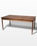 Front view thumbnail of Elias Solid Walnut Dining Table