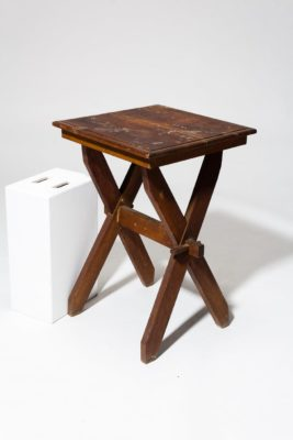 Alternate view 3 of Trigg Rustic Wooden Side Table