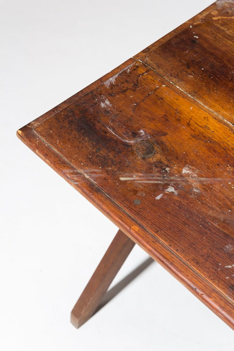 Alternate view 1 of Trigg Rustic Wooden Side Table