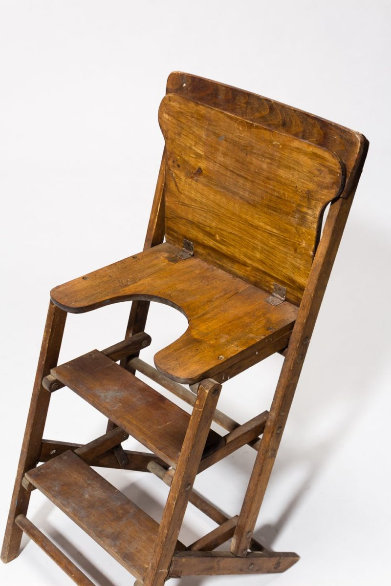 Alternate view 2 of Beale Wooden Step Ladder Chair