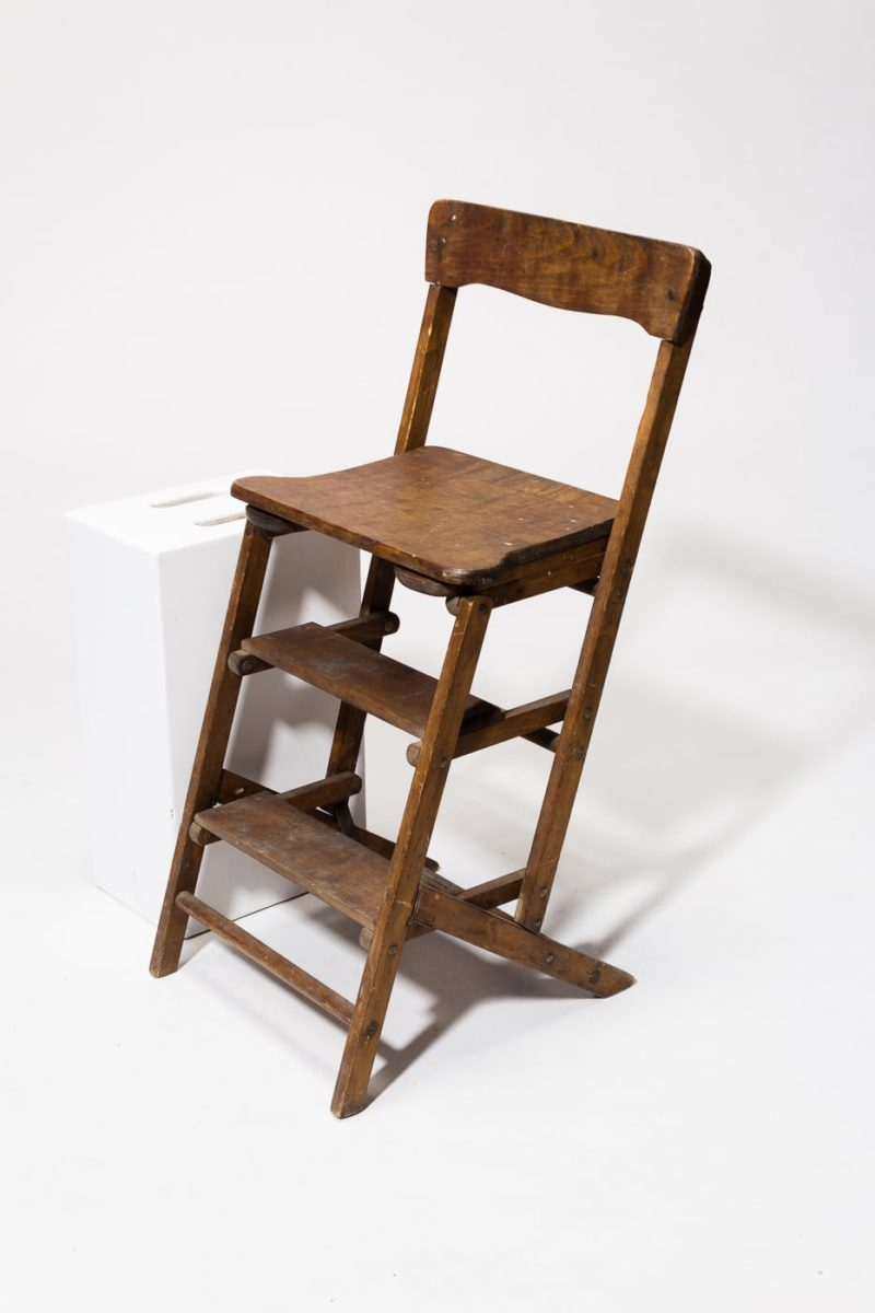 Alternate view 1 of Beale Wooden Step Ladder Chair