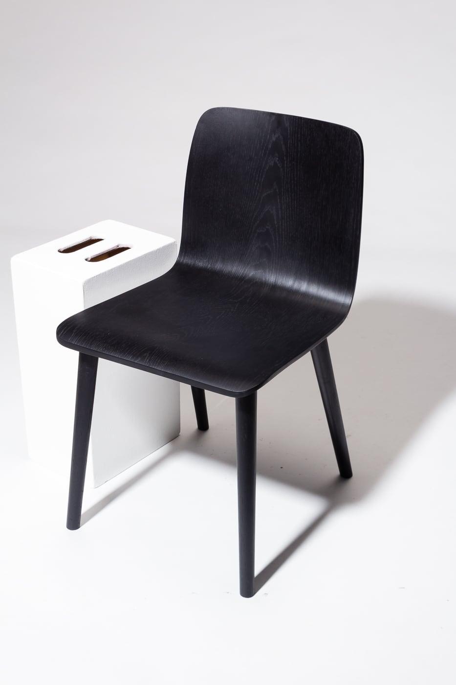 Ch671 Aria Charcoal Chair Prop Rental Acme Brooklyn