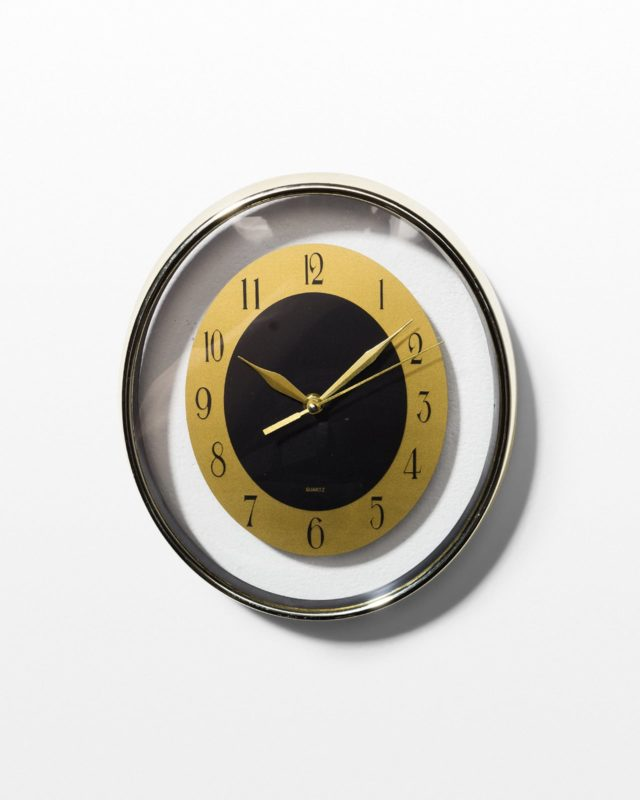 Front view of Decora Wall Clock