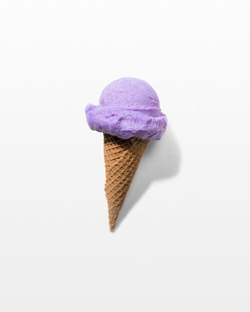 Front view of Belmar Lavender Cone