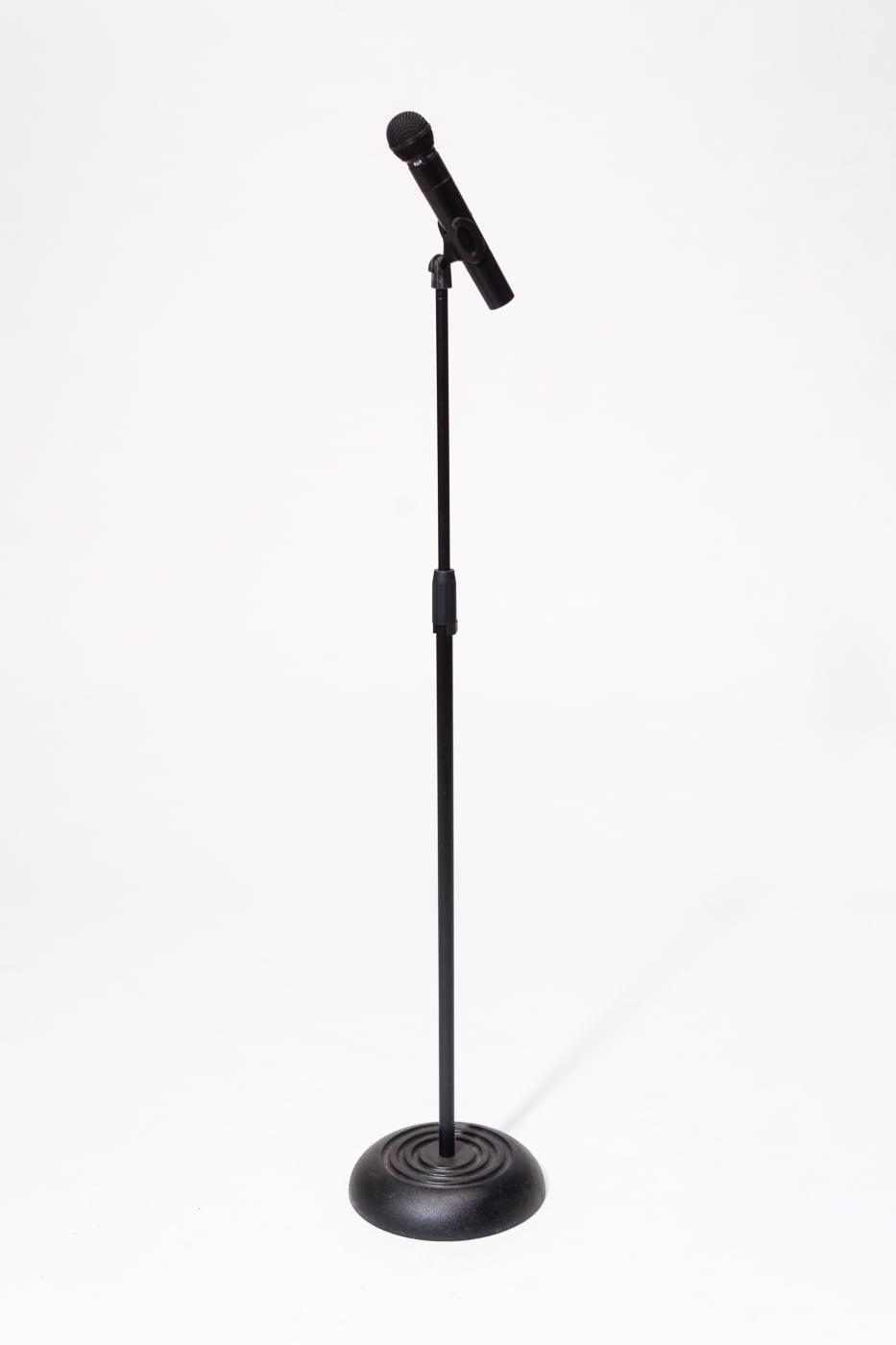 mu058 elgin wireless microphone with stand prop rental acme brooklyn. Black Bedroom Furniture Sets. Home Design Ideas
