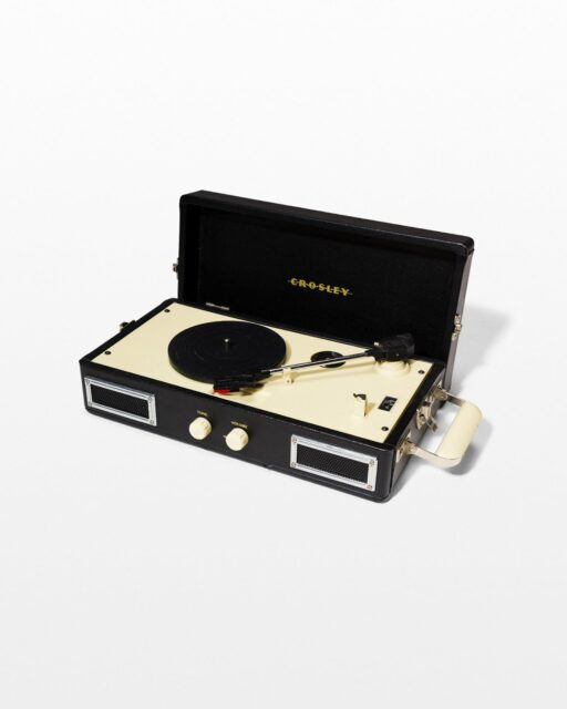 Front view of Mick Portable Record Player