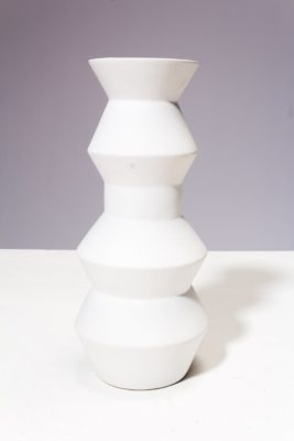 Alternate view 3 of Canopy White Ceramic Vase Trio