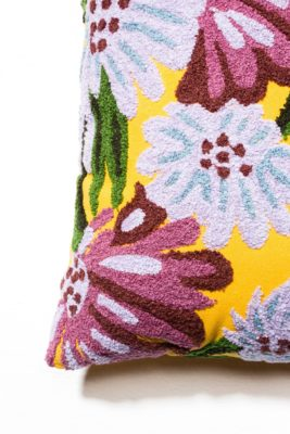 Alternate view 1 of Jasper Floral Embroidered Pillow