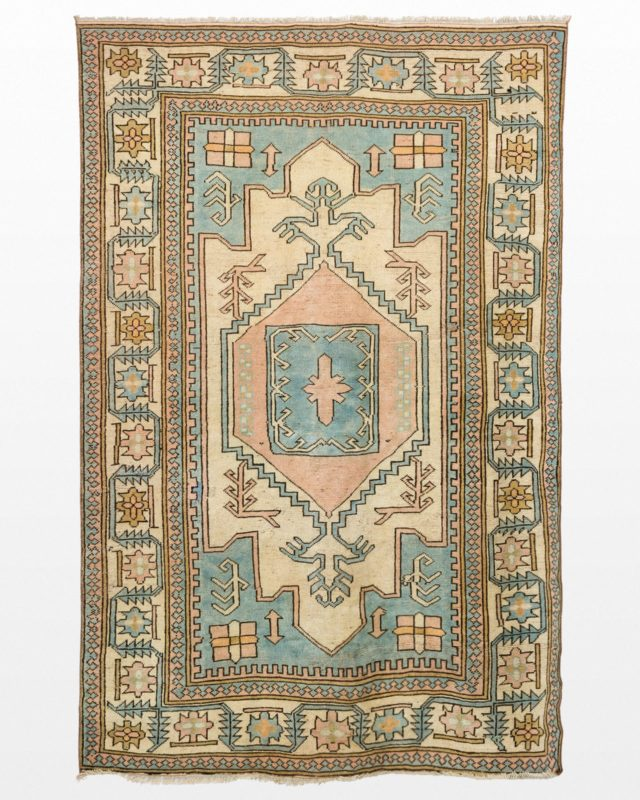 Front view of Makanda Patel 5.5' x 8.75' Rug