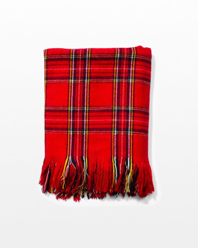Front view of Scot Tartan Throw