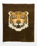 Front view thumbnail of Sabira Tiger Tapestry Blanket