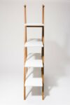 Alternate view thumbnail 2 of Ander White and Walnut Shelf Unit