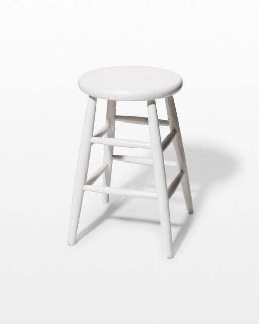 "Front view of Corbin 24"" Studio Stool"