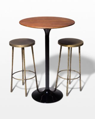 Front view of Cassidy and Rockville Hightop Table Set