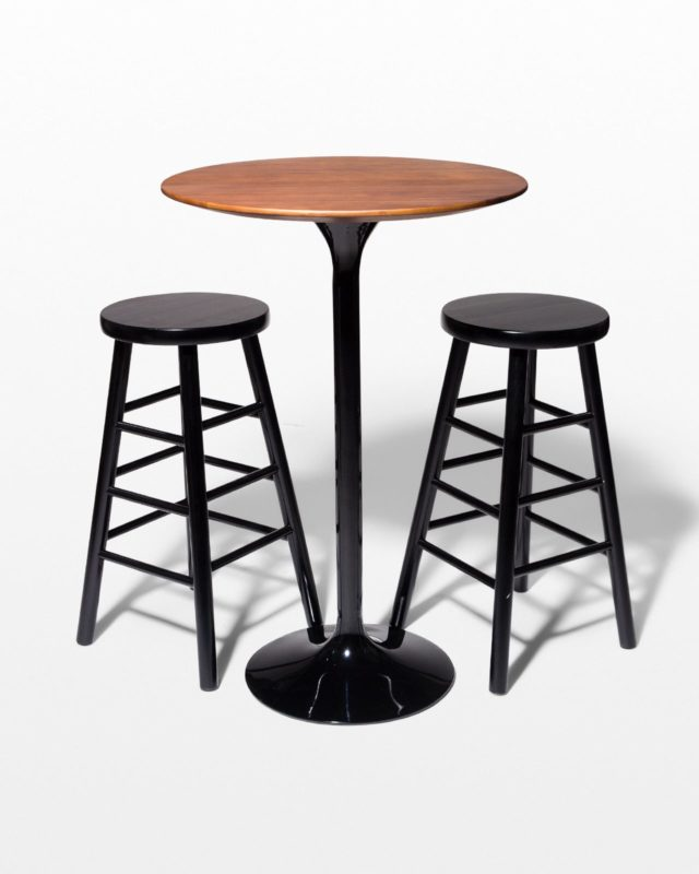 Front view of Cassidy and Union Hightop Table Set