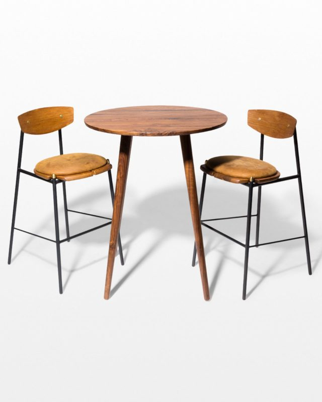 Front view of Tacoma and Chadwick Hightop Table Set