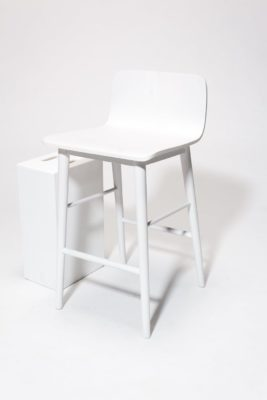 Alternate view 2 of Gibson White Counter Stool