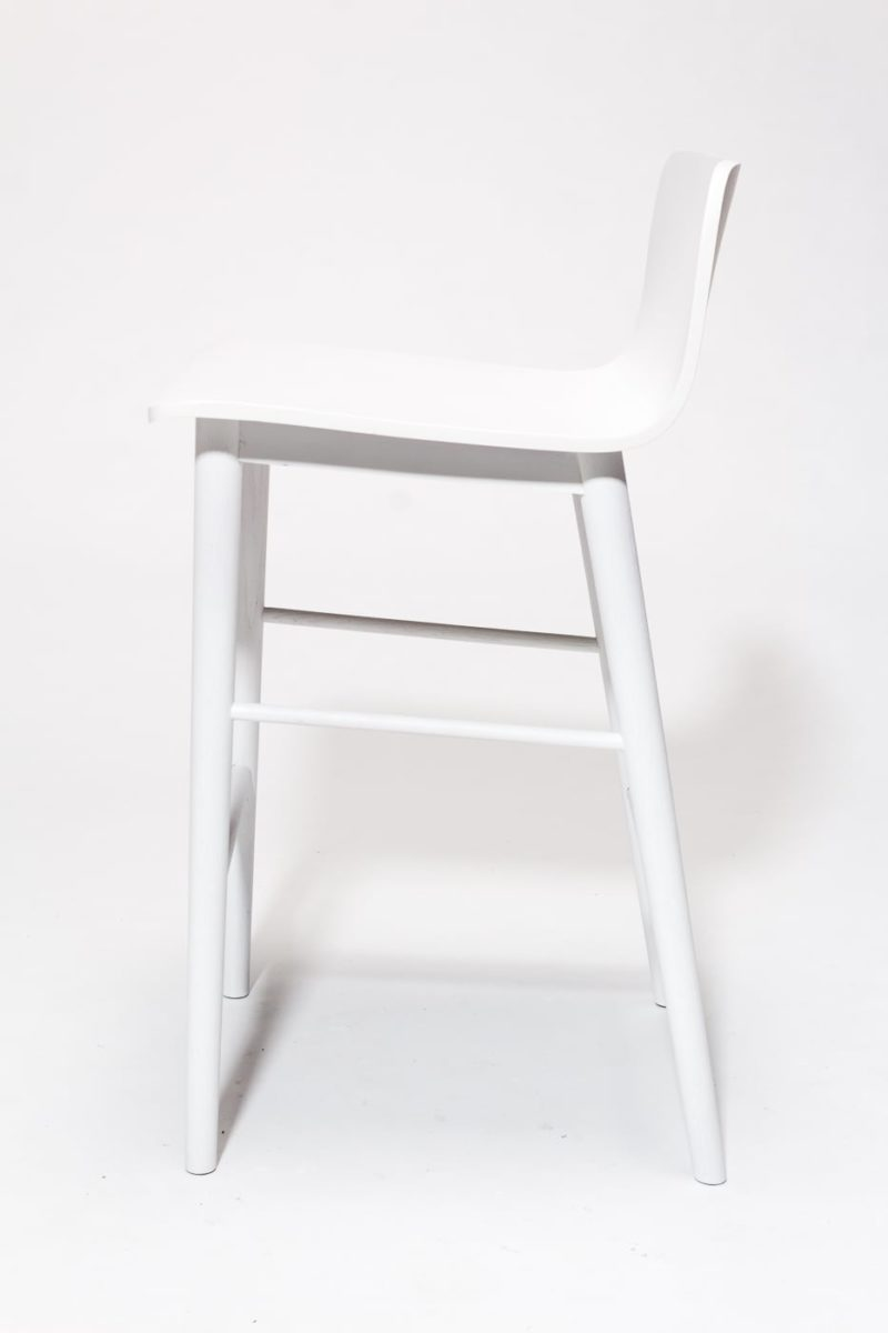 Alternate view 3 of Gibson White Counter Stool