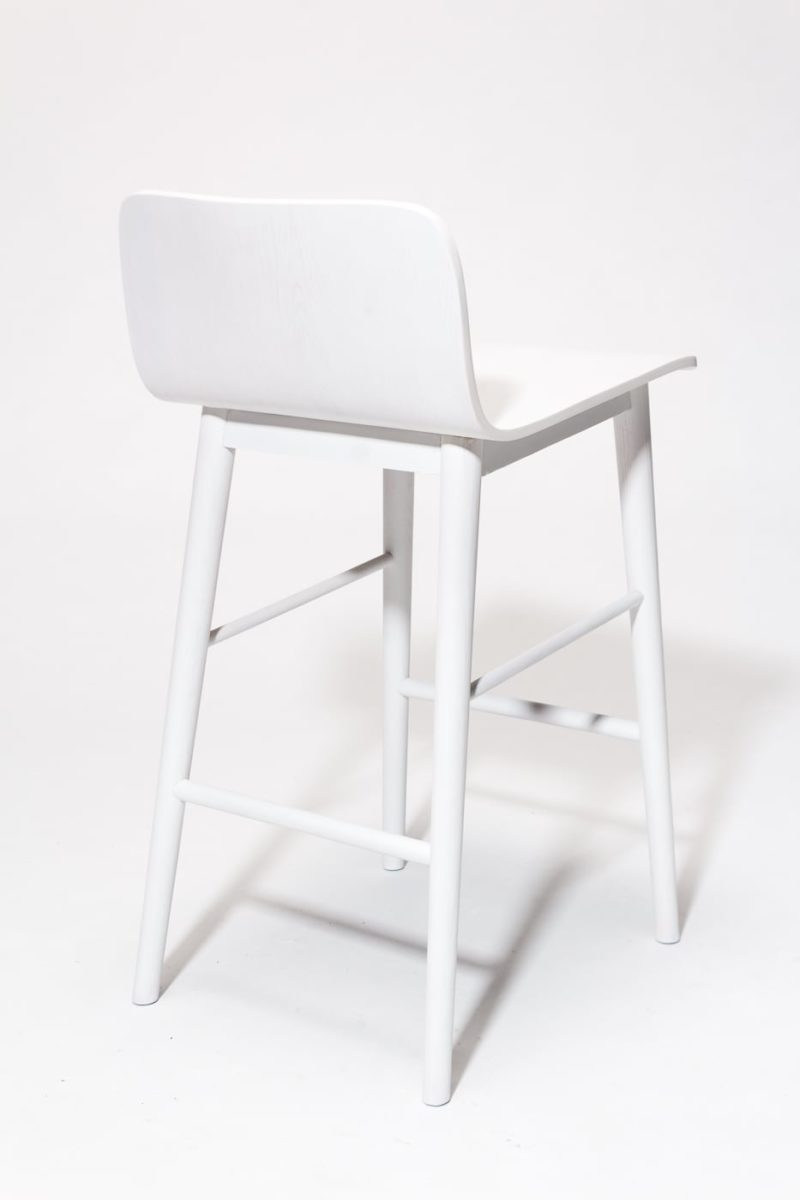 Alternate view 4 of Gibson White Counter Stool