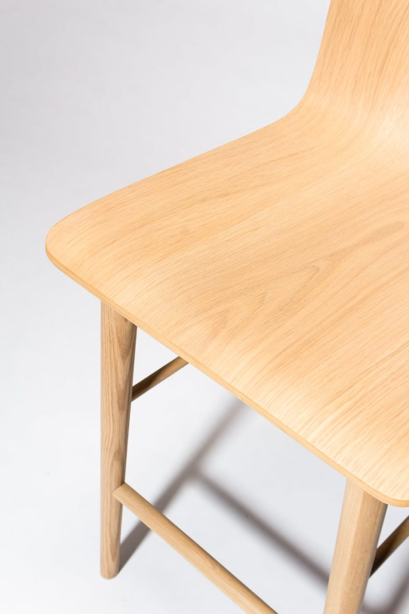 Alternate view 2 of Devon Natural Oak Counter Stool