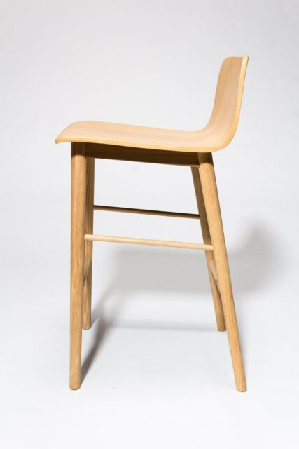 Alternate view 3 of Devon Natural Oak Counter Stool