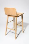Alternate view thumbnail 4 of Devon Natural Oak Counter Stool