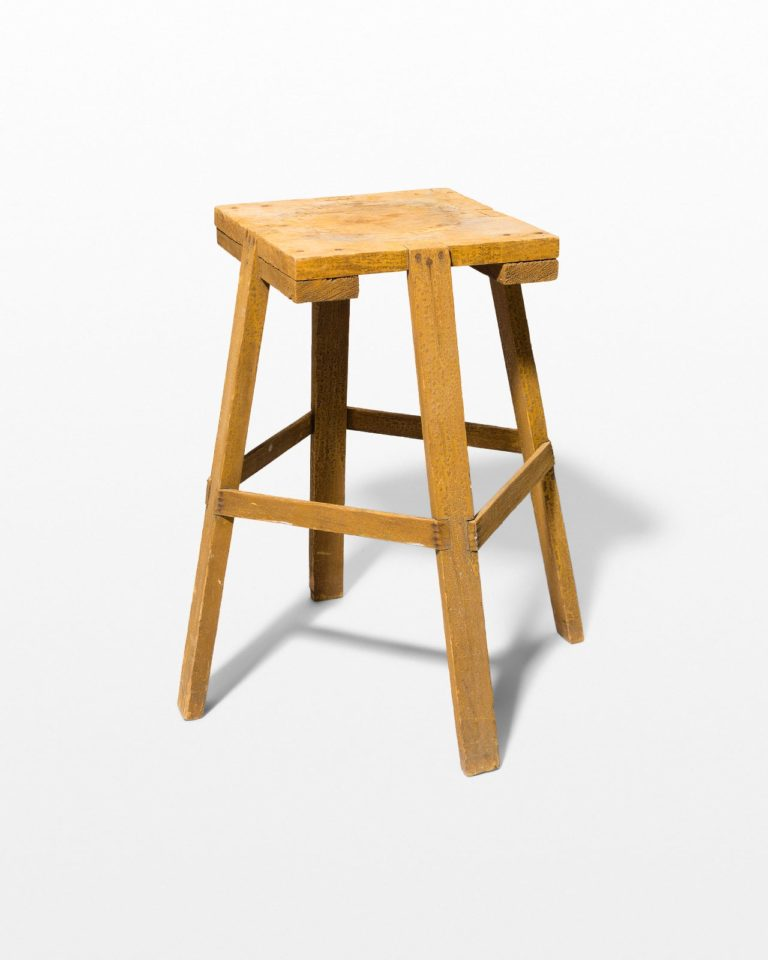 Front view of Pac Pedestal Stool