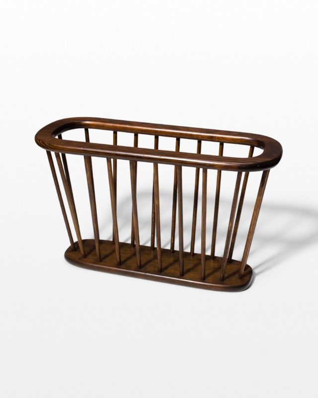 Front view of Lillian Magazine Rack