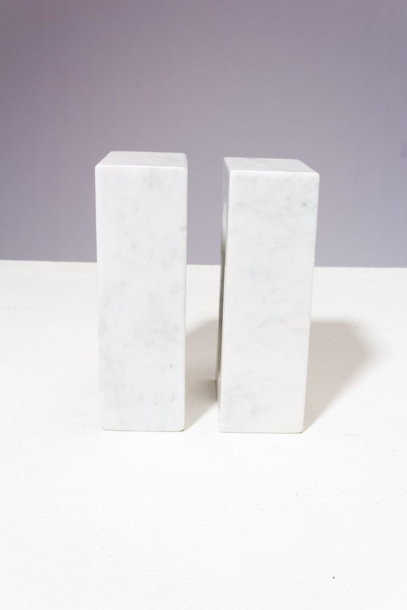 Alternate view 3 of Shore Marble Bookend Object Pair