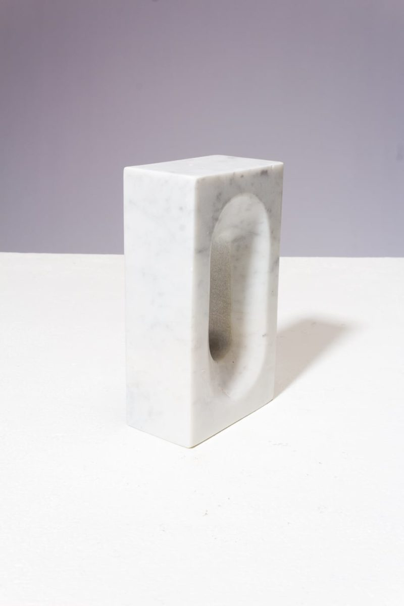 Alternate view 4 of Shore Marble Bookend Object Pair
