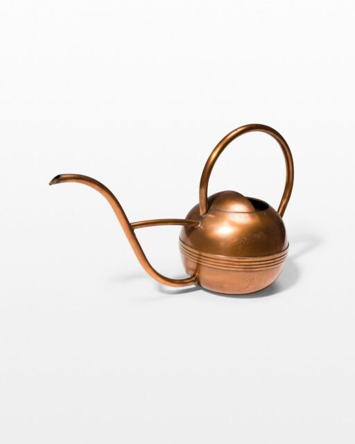 Front view of Brent Copper Watering Can