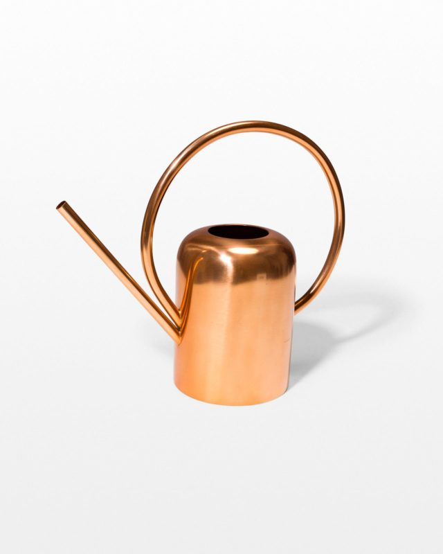 Front view of Austin Copper Watering Can
