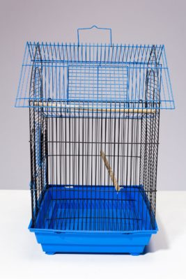Alternate view 2 of Kang Blue Wire Birdcage