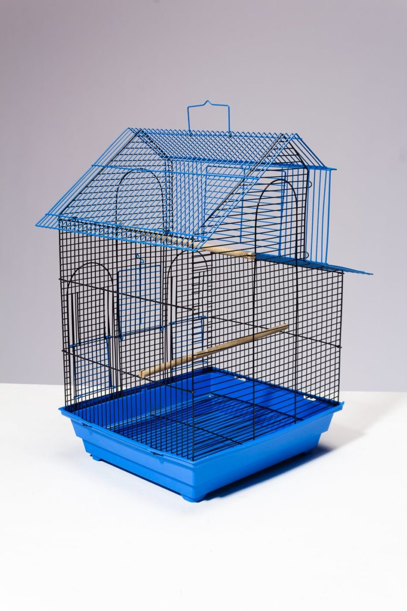 Alternate view 3 of Kang Blue Wire Birdcage