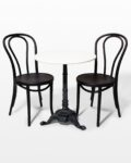 Front view thumbnail of Gilda Bistro Table and Chair Set