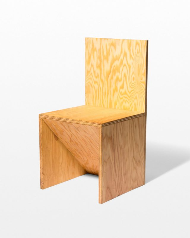 Front view of Cale Plywood Accent Chair