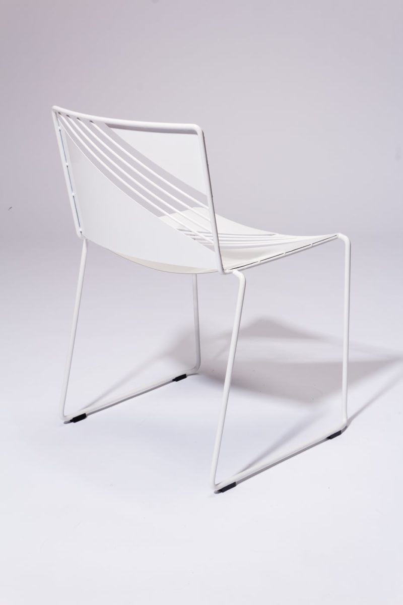 Alternate view 4 of Fly White Enamel Chair
