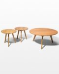 Front view thumbnail of Tai Coffee and Side Tables Set