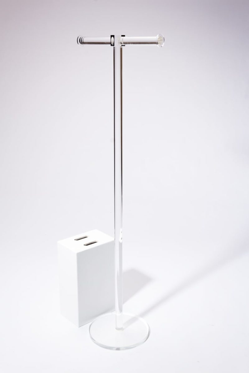 Alternate view 2 of Rumi Acrylic Coat Rack Display Stand