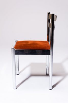 Alternate view 2 of Cora Chrome Chair