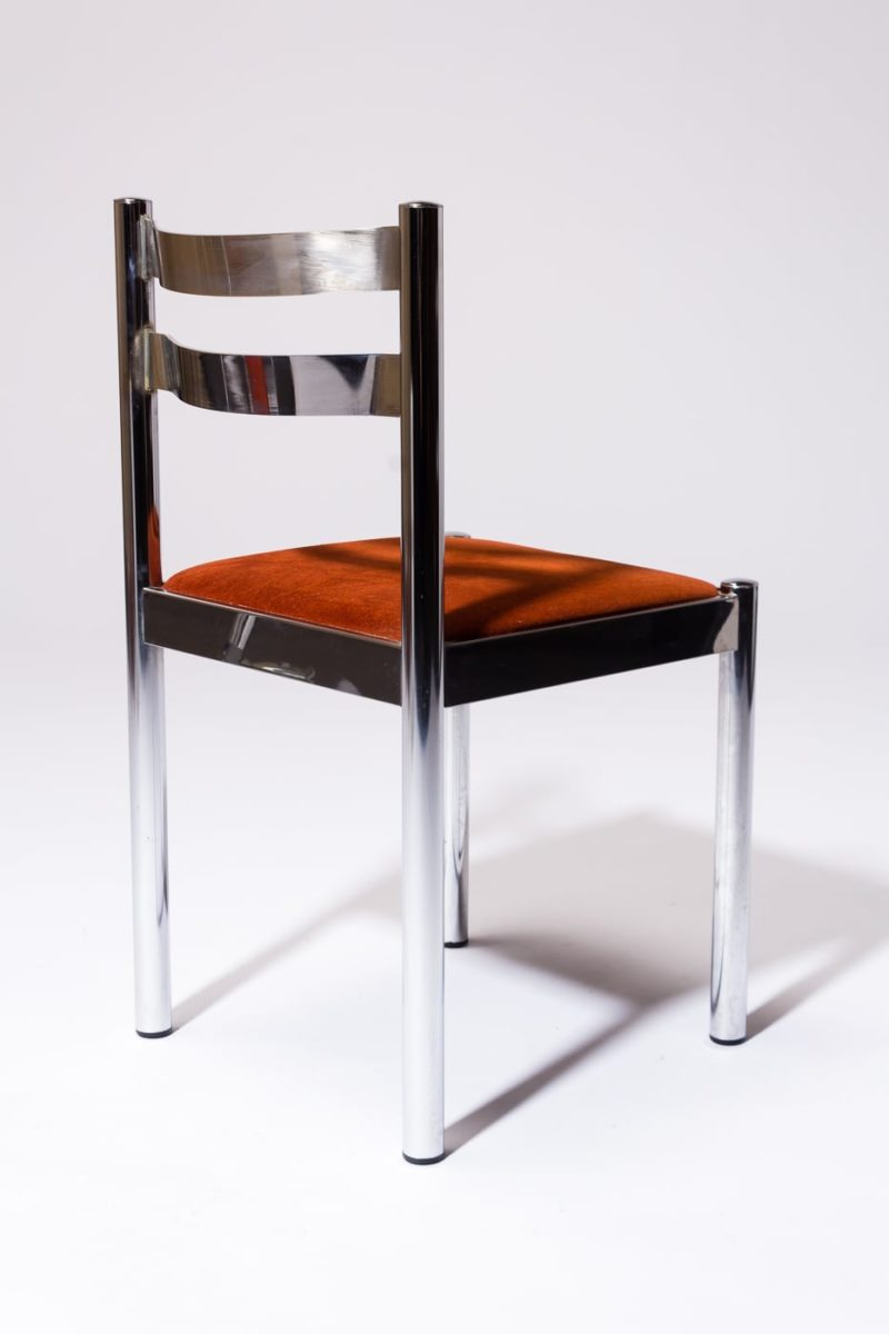 Alternate view 3 of Cora Chrome Chair
