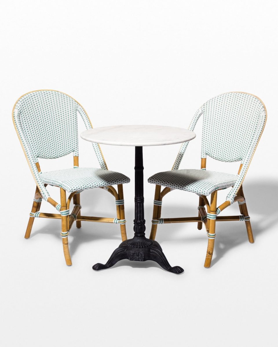 Front view of Julissa and Gilda Bistro Dining Set